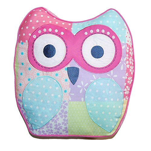 Cozy Line Pink Owl 2 Pcs Quilt Set for Kids/Girls Bedding (Owl, Twin - 2 Piece) (Color Owl, Decor Pillow - 1 pc)