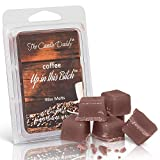 The Candle Daddy Coffee Up in This Bitch- Coffee Scented- Maximum Scent Wax Cubes/Melts- 1 Pack -2 Ounces- 6 Cubes