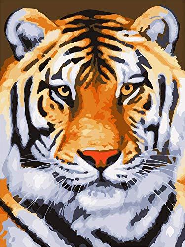 Cartoon Tiger  de madera de 1000 piezas para adultos y niños