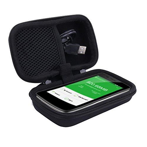 Reise Hart Taschen Hülle für GlocalMe 4G LTE mobiler Hotspot mobiler WLAN MiFi für Model G3 von Aenllosi(schwarz)