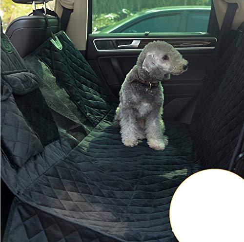 FDGT Hundedecke Für Auto Rückbank Wasserdicht Komplettschutz Comfort Autoschondecke Für Hunde Wasserfester Rücksitz Sitzbezug Ideale Autodecke Für Haustierekurzer Plüsch 137 X 147Cm