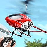Mopoq Avión de control remoto modelo de 90 cm Aviones de control remoto 3.5 Pasaje Helicóptero de altura fija DIRIGIÓ luces de colores UAV Aeronave al aire libre Niño Estable y de juguete de control r