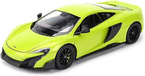 Xuping shop Alliage Modèle De Voiture Jouet - échelle 1 24 McLaren Simulation 675LT Moulage sous Pression Alliage Modèle De Jouet Statique Voiture Enfants Toy Vehicle (Couleur   vert)