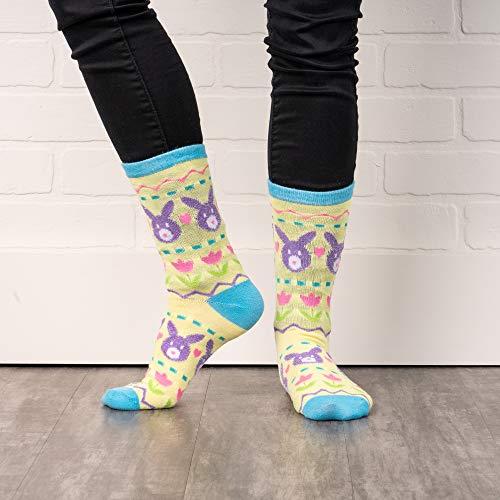 Product Image 6: Easter Crew Socks, Chicks/Bunny Fair Isle/Easter Fair Isle Socks (3 Pack)