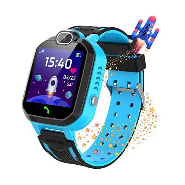 Reloj Inteligente para niños Kids Smartwatch para niños Niñas Juego de teléfono Smart Watch para niños Niños Reproductor… 2