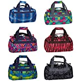 Chiemsee Sporttasche Matchbag X-Small Reisetasche, blau/pink/gelb, 44 x 21 x 22 cm, 16 Liter