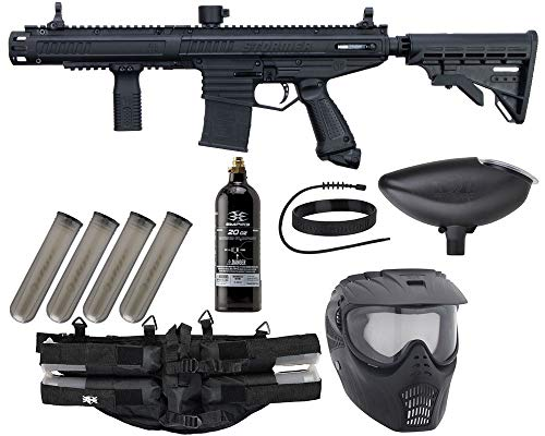 Action Village Tippmann Stormer Elite Dual Fed Epic Paintball Package Kits