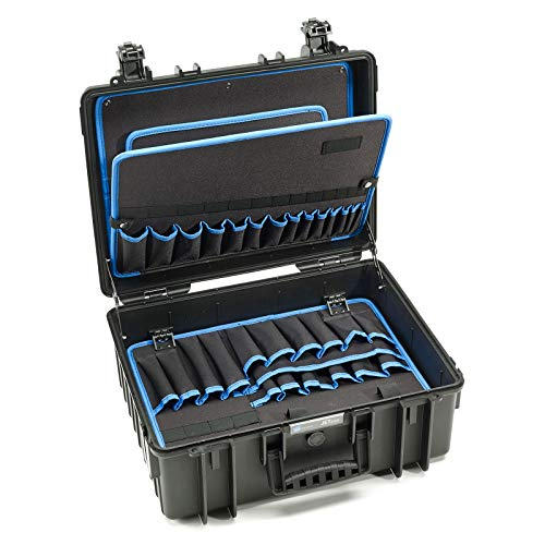 B&W Werkzeugkoffer JET 6000 (extrem robust, schlagfest, staubdicht und spritzwassergeschützt; 510 x 419 x 215 mm) 117.18P