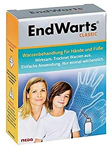 EndWarts Classic Lösung inkl. Wattestäbchen, 3 ml