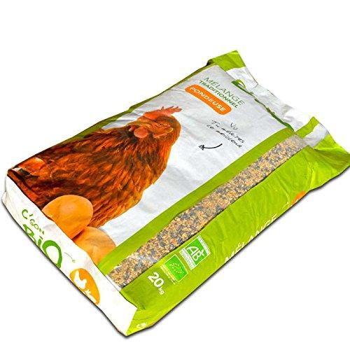 Agro Sens Mélange de céréales Bio, Poules pondeuses. Sac de 20 kg