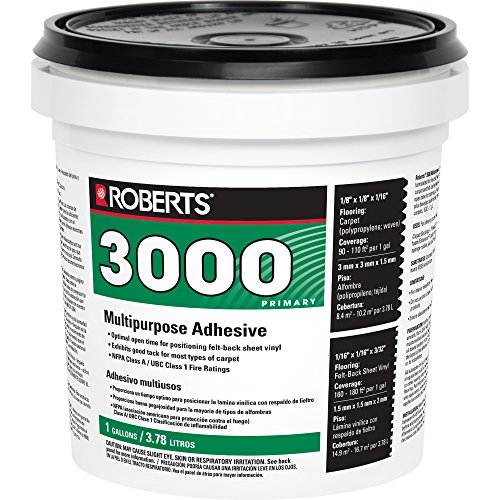 Roberts 3000-1 Vinyl and Carpet Adhesive