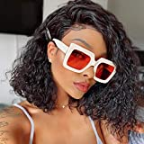 Ugrace Hair Lace Front Wigs Water Wave Short Bob Wigs With Baby Hair Can be Bleached Knots Pre Plucked Hairline Brazilian Virgin Hair Human Hair Wigs For Black Women (14 inch, Water Bob Wig)