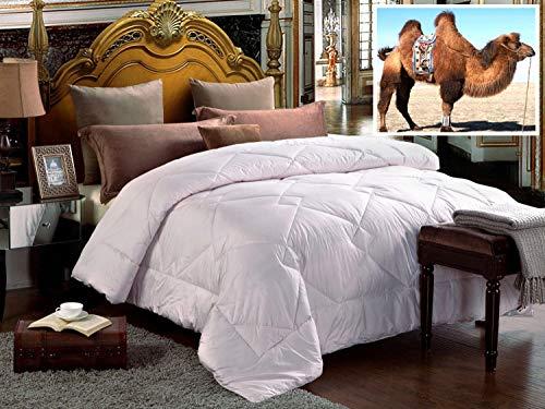 Organic Comfort Market 100% Natural Camel Wool Comforter. Woolmark & Oeko Certified. (King)