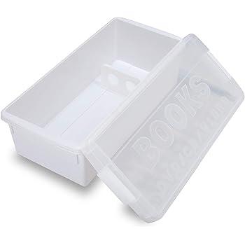 イセトウ伊勢藤 収納ボックス ブック&メディアケース ホワイト(普通コミック約29冊収納) I-540
