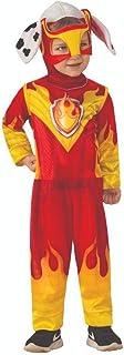 Paw Patrol Child's Mighty Pups Marshall Costume, X-Small
