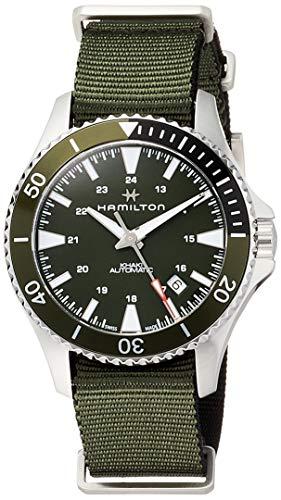 Reloj de Pulsera para Hombre HAMILTON Scuba Auto en Acero Verde H82375961