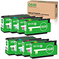 8-Pack Osir HP 950XL/951XL Compatible Ink Cartridge Replacement