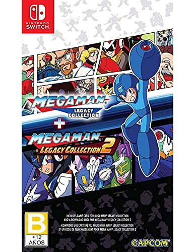 Mega Man Legacy Collection 1 + 2 (Nintendo Switch)