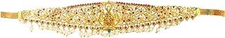 MOONPLUS Stylish Traditional Gold Plated Kamarpatta, Ottiyanam, Tagdi, Kardhani, Bellychain, Kamarband, Vaddanam Waistchai...