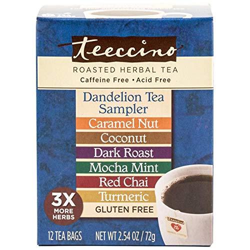 Teeccino Dandelion Tea Sampler -...
