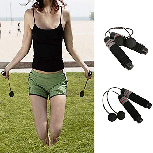 Tenrry Cordless Jump Ropes Bodybuilding Wireless Skipping for Arms Gym Fitness Equipment Indoor Home Training Exercise