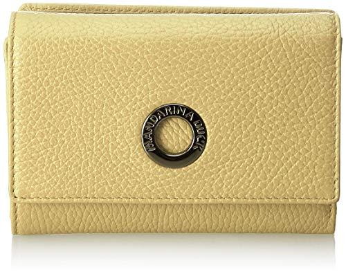 Mandarina Duck Damen Mellow Leather Portafoglio Geldbeutel, Gelb (Starfruit), 3x10x14.5 Centimeters (W x H x L)