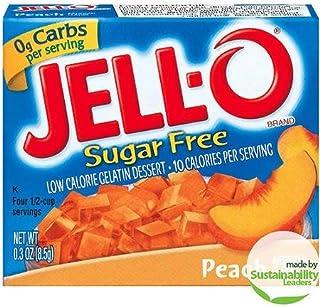 JellO: Gelatin Dessert Sugar Free Peach Low Calorie, .3 Oz