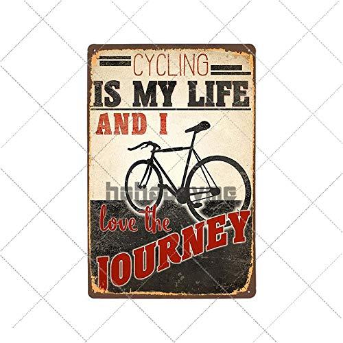 WE Carteles de Chapa de Metal Retro para Bicicleta, Cartel Vintage para Montar en Bicicleta, Bar, Pub, Club, decoración de habitación, Placa de Pared, decoración del hogar 2033005
