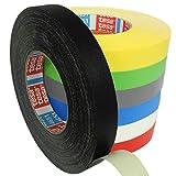 Tesa 4651 Premium Gewebeband verschiedene Breiten und Farben wählbar/schwarz 12 mm x 50 m