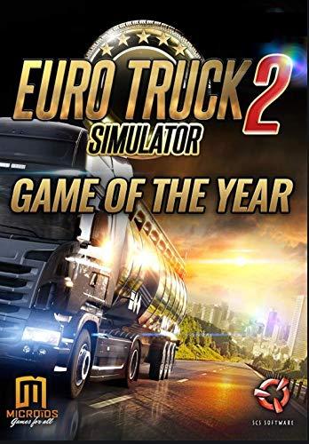 Euro Truck Simulator 2 GOTY Edition + Bonus Game PC Steam Download Code (No CD/DVD)