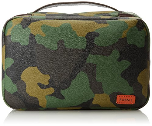 Fossil Hanging Travel Kit, Camouflage, One Size