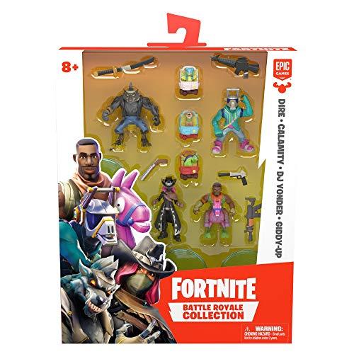 Giochi Preziosi Fortnite Blister con 4 Personaggi e Accessori