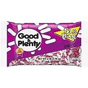 GOOD & PLENTY Licorice Candy, 5 Pound Bulk Candy
