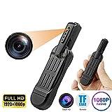 Mini Caméra, HD1080P Caméscope Enregistreur Vidéo avec Sports De Plein Air Portable Enregistreur DV Caméra Cachée Vision...