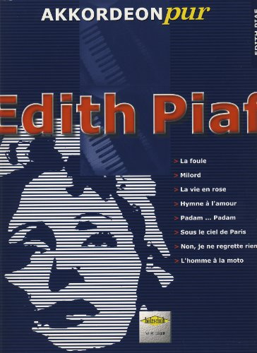 Piaf Edith Akkordeon Pur