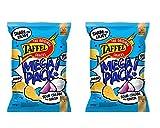 TAFFEL Patata Chips Sour Cream y Cebolla Sabor, 280 g - Pack de 2