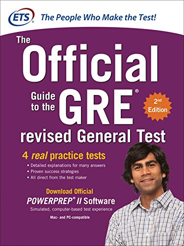 GRE The Official Guide to the Revised General Test, Second Edition (GRE: The Official Guide to the General Test) (Best Sweepstakes Sites 2019)