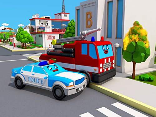 Smart Fire Truck and the Police Car