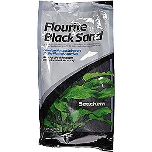 Seachem Fluorita Negro Arcilla Grava, 7,7kg,