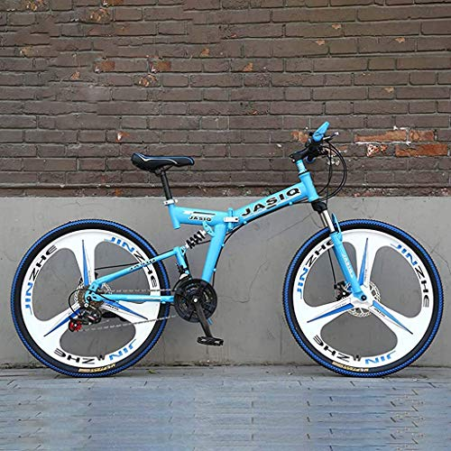 ATRNA 26 Zoll Mountainbike Unisex, Fahrrad Licht Leichtes Mini Faltrad Kleines Tragbares Fahrrad Erwachsener Student Mädchen-Damen-Citybike