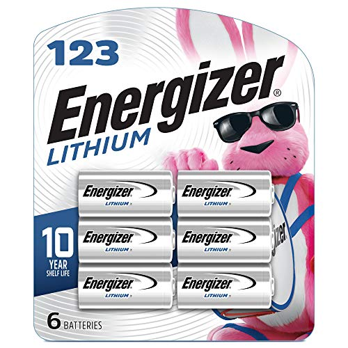 Energizer 123 Lithium Batteries, 3V CR123A...