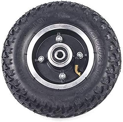 200x50 Innenaußenreifen mit Nabe Vollrad 8X2 Luftreifen für Elektroroller Rollstuhl LKW Wagen Wagen Teile, Ersatzräder, tragbar