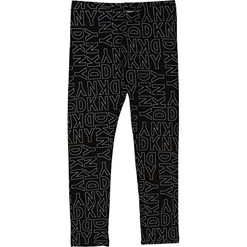 DKNY Kids Leggings schwarz weiß Allover Logoprint Gr.16A