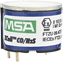 MSA 10106725 Replacement Duo-Tox (Hydrogen Sulphide and Carbon Monoxide) Sensor with Alarms 10/1700 ppm for Use with ALTAIR 4X/5X Multi-Gas Detector