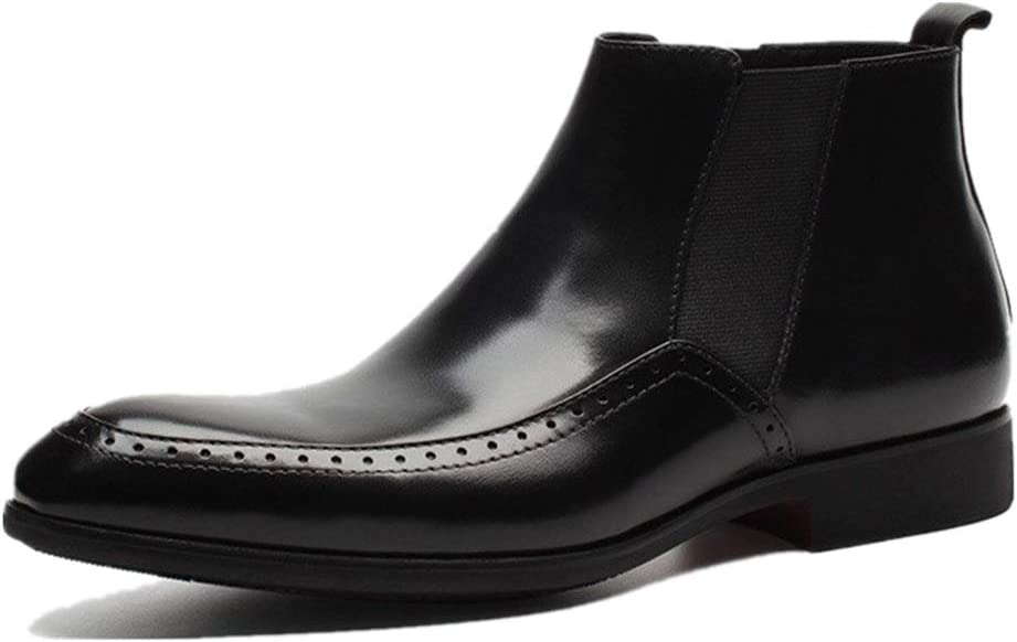 Rui Landed Ankle Max 45% OFF Boot for Men Chelsea Pull Work Daily bargain sale On Pr Style