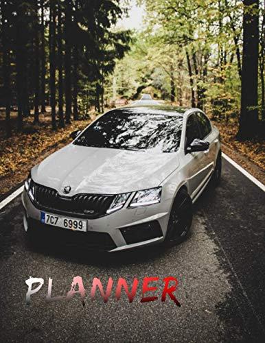 Skoda Octavia VRs 4 Month Planner for Men: Awesome Planner 120 pages...