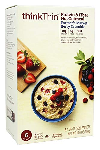Think Products Oatmeal Protein and Berry Crumble Box 106 Ounce