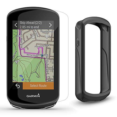Garmin Edge 1030 Plus (2020 Model) Cycle Bundle | with Bike Mounts, PlayBetter Silicone Case & Screen Protectors | GPS Bike Computer, Navigation (GPS Only, Black Case)