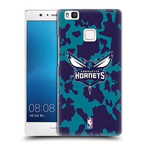 Head Case Designs Oficial NBA Estampado Animal de Vaca Charlotte Hornets 3 Carcasa rígida Compatible con Huawei P9 Lite / G9 Lite