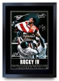 HWC Trading Rocky VI The Cast Rocky 4 Sylvester Stallone